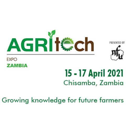 Agritech Expo 2021 Zambia - April 15-17, Chisamba